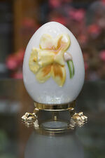 Vintage Goebel 1982 Collectible Hand Painted Egg