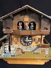 Vintage Edelweiss Swiss Cuckoo Clock Lara'S Theme No 6732-36 Cuendet Dr Zhivago