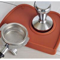 Espresso Latte Barista Coffee Mat  Art Pen Tamper Tamping Rest Safe Holder  CRWO