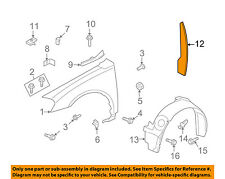 Chevrolet GM OEM 06-13 Impala Fender-Insulator (fits either side) 15868468