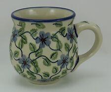 Bunzlauer Keramik Tasse BÖHMISCH - Becher - U N I K A T - 0,25Liter, (K090-TAB1)