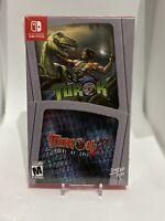 Turok and Turok 2 Double Pack Nintendo Switch Limited Run Games New Sealed