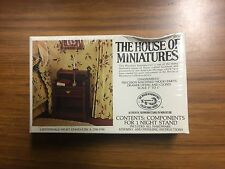 House of Miniatures Doll Furniture Xacto 1:12 Chippendal Night Stand #40012 New