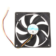 12cm 120mm DC 12V 1800rpm 3-Pin Brushless PC Computer Case Cooling Fan 120x25mm