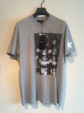 GIVENCHY CHEERLEADER PRINTED COTTON OVERSIZE TEE SHIRT SIZE XXS RRP £315