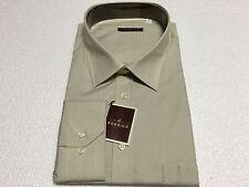 RODRIGO camisa de hombre linea tamaño beige 100 % algodón 53-21