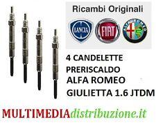 GE114 KIT 4 CANDELETTE GIULIETTA 2.0 JTDM 125KW 170CV 2014