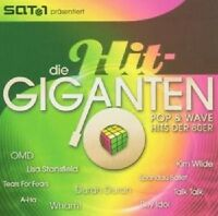 DIE HIT GIGANTEN POP & WAVE 2 CD MIT KIM WILDE UVM NEU