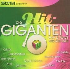 DIE HIT GIGANTEN POP & WAVE 2 CD MIT KIM WILDE UVM NEU