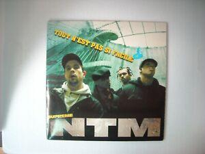CD. NTM  . RARE . TOUT  N'EST PAS SI FACILE. 1995 . TRES BON ETAT . VOIR SCAN