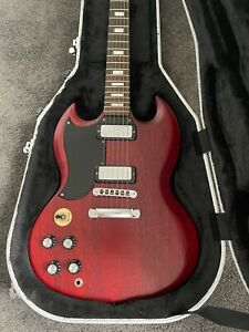 Gibson USA SG 70's Tribute 2012 Heritage Cherry Red Left Handed Electric Guitar