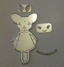 Sizzix Die Cutter Mouse Cute fits Big Shot Cuttlebug