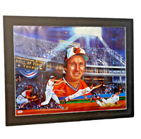 BROOKS ROBINSON HAND SIGNED AUTOGRAPHED 22X28 LITHOGRAPH MATTED PHOTO PSA/DNA