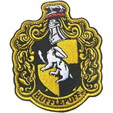 Harry Potter Hufflepuff Crest Hierro En Parche Licencia Oficial