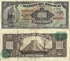 Mexico banknote 1000 Pesos Cuauhtemoc good condition