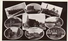 Askern Multi View Colliery Nr Doncaster Stainforth RP old pc used 1917