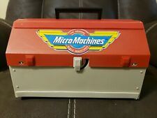Micro Machines Super City Toolbox, 1988 Galoob Vintage Playset, Near Complete