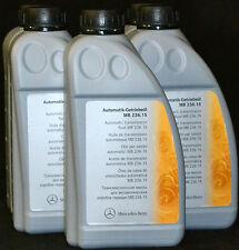 9x1 Liter ORIGINAL MERCEDES BENZ Automatik Getriebeöl MB 236.15 ATF A0019897703