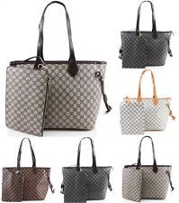 Ladies Designer Handbags Large A4 School Bag Womens Tote Clutch Shoulder Bag UK
