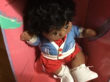 1985 Mattel My Child New In A Box African American Black Hair Brown Eyes.