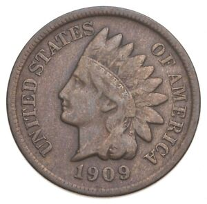 1909-S Indian Head Cent - Walker Coin Collection *351