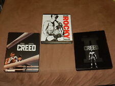 """""""Rocky & Creed 8-Movie Collection"""" 9-Discs Blu-Ray Steelbook Set Oop Sweet"""