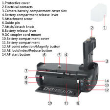 DSTE BG-E7 Vertical Battery Grip for Canon EOS 7D SLR Digital Camera as LP-E6