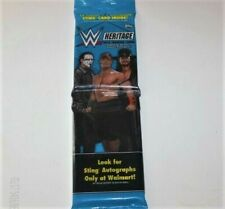 2015 Topps WWE Heritage Rack Pack Retail Sting Excl. -Auto? Loaded 16 Card Pack