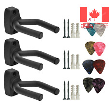 3 Pack Guitar Hanger Hook Holder Wall Mount Display Acoustic Guitar Stand Uku...
