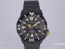 Massive 50th Ann. Seiko Prospex 200m PVD bracelet auto date day diver watch
