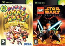 Super MONKEY BALL DELUXE y Lego Star Wars XBOX PAL