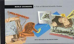 GB QE II 1999 World Changers DX23 prestige booklet