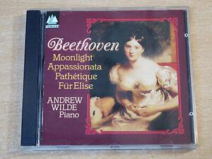 Beethoven/Piano Sonata No 14/1992 Conifer CD Album/Andrew Wild