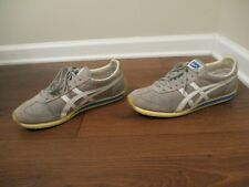 Used Worn Size 11.5 Asics Onitsuka Tiger California 78 Shoes D11ON Gray White