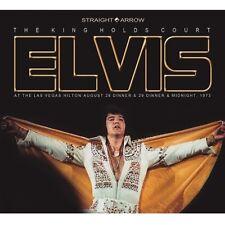 ELVIS PRESLEY - The King Holds Court - 3 CD Digipack sealed RARE