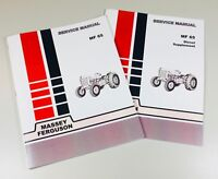 65 Massey Ferguson Diesel Tractor Technical Service Shop Repair Manual MF65 MF