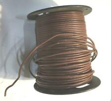 Brown 10 AWG THHN Stranded Wire 14 LB Spool NOS