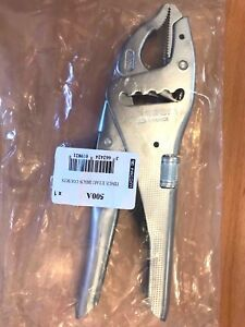 Facom 500A Long Nose Multi Positional Lock Grip Pliers 80mm Capacity