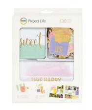 Project Life TRINKETS Value Kit 130pc Gold Foil Becky Higgins Planner