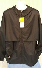 NWT Champion Water Resistant Packable Jacket Black Men's Size XXL
