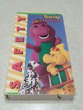 Barney Safety VHS Tape