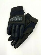 Black Hard Knuckle Tactical Impact Gloves Military Airsoft Paintball Combat.