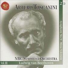 Beethoven: Symphony No. 9; Missa Solemnis (CD, Nov-1998, 2 Discs, RCA) BRAND NEW