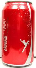 MT UNOPEN Can Coke Coca-Cola Vancouver 2010 Winter Olympics Figure Skating USA