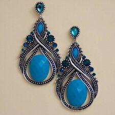 new and beautiful antique acrylic tear drop fashion earrings erw4205