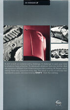 2004 Nissan 350Z 46-page Original Sales Brochure Catalog