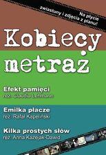 Kobiecy metraz (DVD) 3 filmy POLISH POLSKI