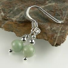 In a gift box, choice of stones, 6mm (+/-) stone ear-rings (S) (SP/SS)