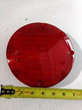 """hdp 1020  7"""" round red brake lens amtran bus"""
