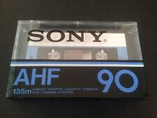 SONY AHF 90 Nos sealed cassette tape Made in France, PERFECT